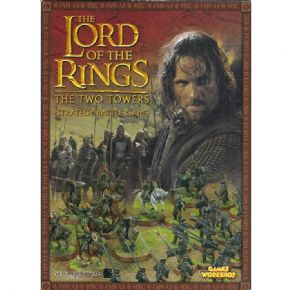 The Lord of the Rings The Two Towers Rulebook 2002